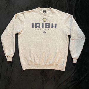 Adidas Norte Dame Irish Football sweatshirt
